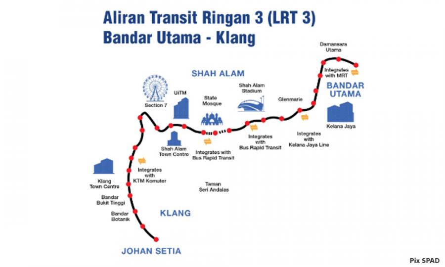 Malaysiakini - LRT3 to continue, to cost RM16.6b