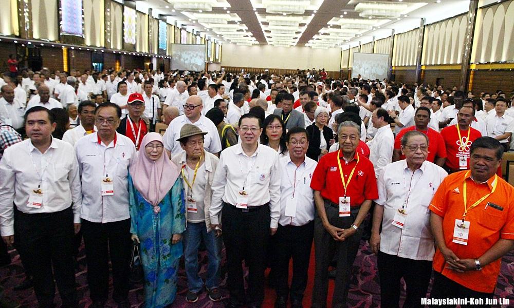 dap national congress 041216 lim guan eng kit siang mahathir mat sabu wan azizah