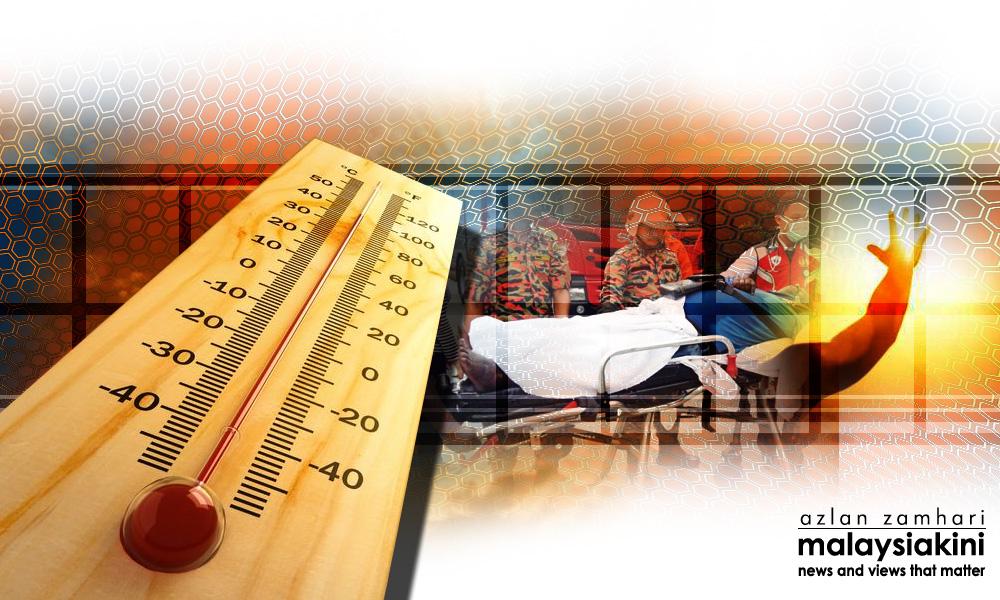 Cuaca panas, waspada strok haba, kata KP Kesihatan