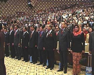 abdullah ahmad badawi pak lah civil servants forum 280108 crowd
