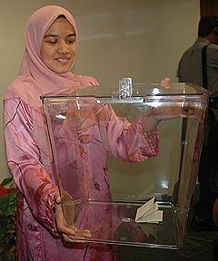ec announce polling date 140208 ballot box 2