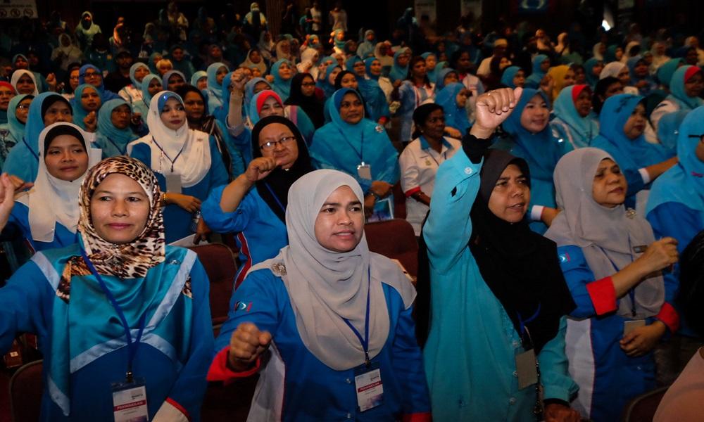pkr congress 200517 wanita delegates