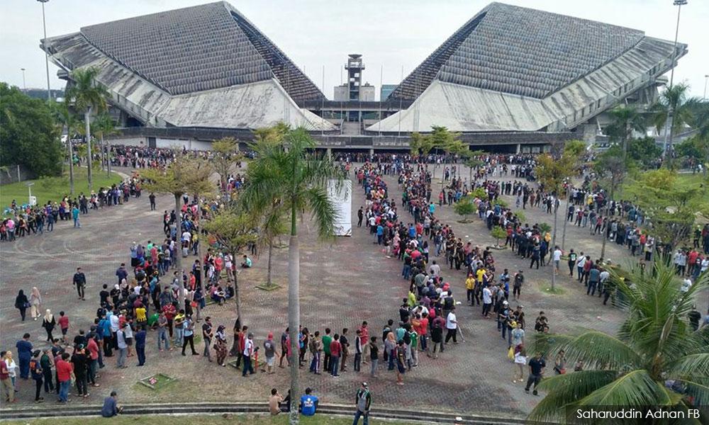 Tiket bola final Sukan Sea 2017