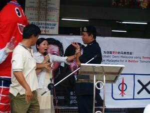 dap teo eng ching police scuffle 050308 stop