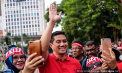 Azmin briefly out of action after spinal injury