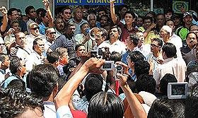 penang komtar umno protest 140308 anger