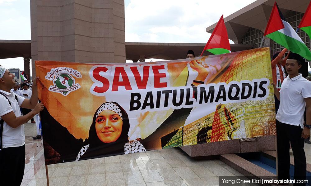 Mufti: Cadangan ibu negara baru Palestin helah bahaya