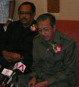 mahathir at de palma hotel 060408 pc