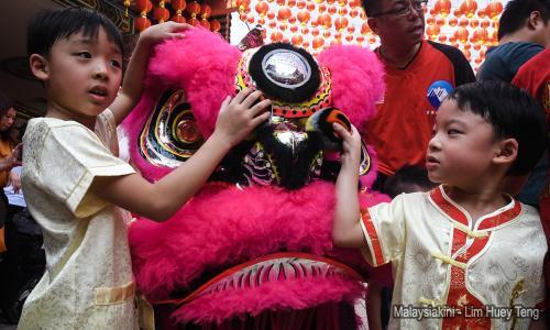 Menyambut Tahun Baru Cina