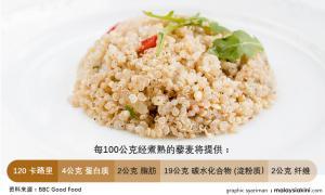 """""""藜麦只属部分食粮"""",首相办澄清纳吉仍有吃饭"""