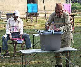 nepal election indelible ink 230408 casting vote