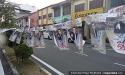 Penang gov't slammed for rush in taking down anti-CM posters