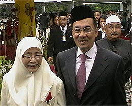 12th malaysia parliament official king opening 290408 01