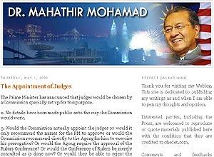 chedet mahathir blog 020508
