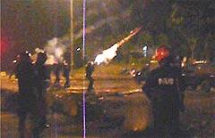 cheras mahkota conflict 080508 tear gas 03