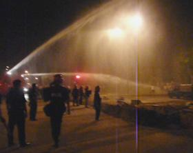 cheras mahkota conflict 080508 water canon 02