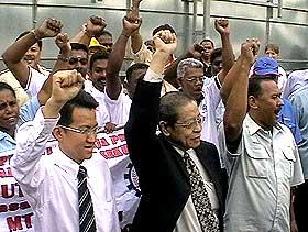 mtuc parliament protest 070508 07