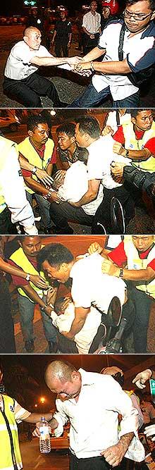 cheras mahkota conflict 080508 lim lip eng arrested