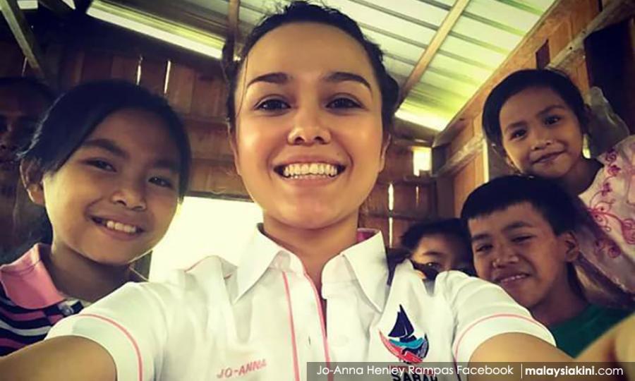 Malaysiakini Warisan S Pretty Jo Anna Not Using Looks To Fish