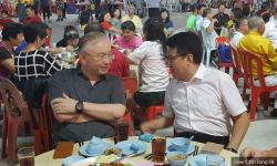 Liew and Wee recall past debates over dinner