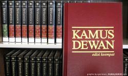 Books of slander: Kit Siang flattens 'Kamus Dewan' with 'Encyclopedia Britannica'