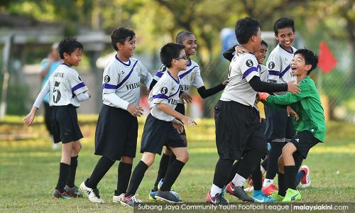 Building communities through the beautiful game