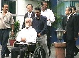 karpal singh live bullet threat police report 200508 03