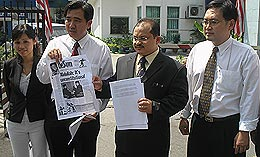 pemuda pakatan police report pm malay ruler sedition 150508 01