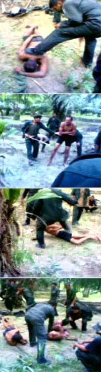 military personnel tortured by army commandos 150508 sequence