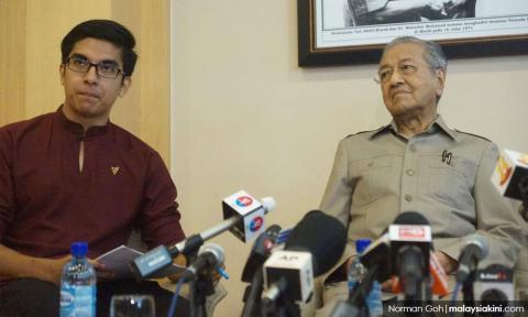 Friendly fire continues: DAP Youth vs Saddiq, PKR Youth vs Dr M
