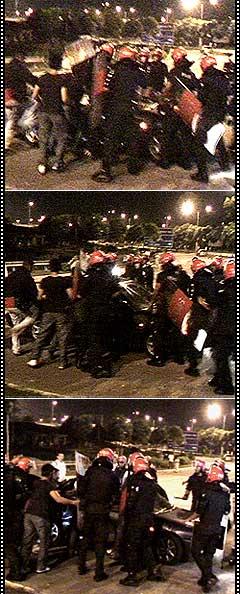 cheras mahkota fru assault on car sequence 280508