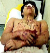 cheras mahkota road grand saga barricade fru assault 280508 01
