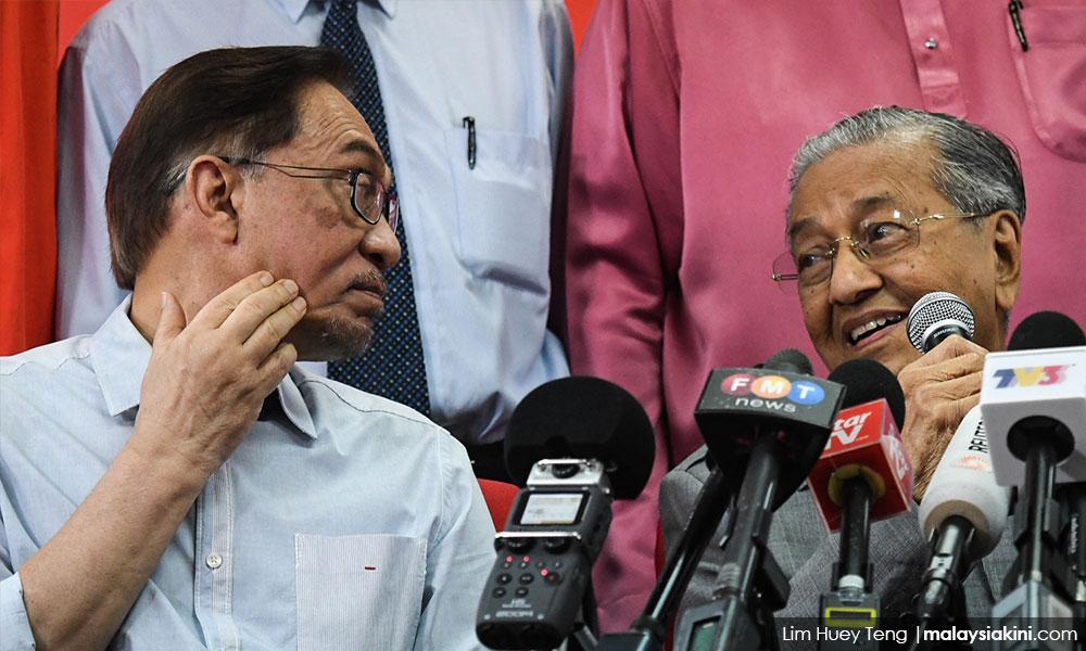 Ada hikmah juga saya bukan PM sekarang  Anwar