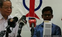 My son's a patriot, says father of kid who donated to Tabung Harapan