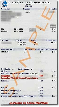 water bill 110608
