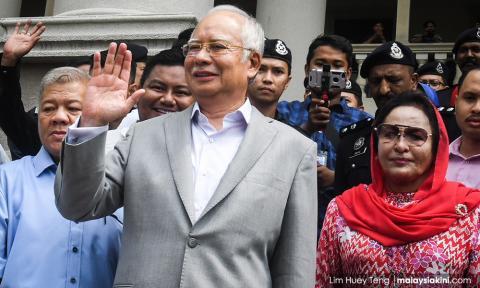 Najib, Rosmah nak saman MP Kepong RM100 juta