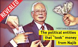 Najib's account - political beneficiaries who 'got a cut' revealed