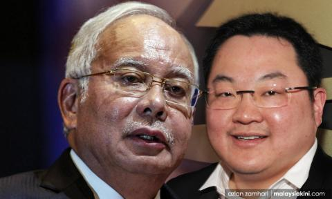 Najib says authorities never raised Jho Low in forfeiture of assets