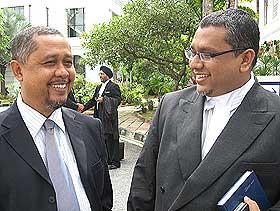 rafidah aziz kuala kangsar parliament seat court case 040708 ahmad jamaluddin and hanipa