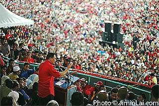 protes fuel price hike rally mppj stadium 070708 43
