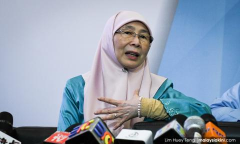 Wan Azizah: No need for Harapan, PKR will resolve sex video scandal