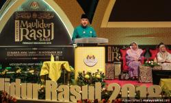 Instability caused by leaders who enrich themselves through 'dubious means' - Sultan Nazrin
