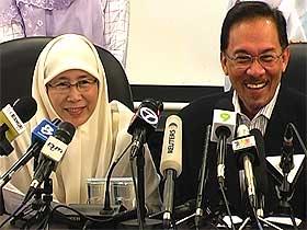 wan azizah resign permatang pauh by election for anwar 310708 07