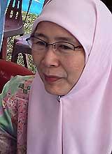 wan azizah permatang pauh by election 210808 02
