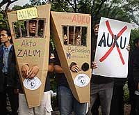 universiti student auku uuca parliament protest 180808 08