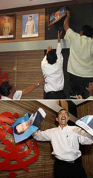 ahmad ismail umno bukit bendera penang pc take down koh tsu koon  photo stunt 080908 sequence
