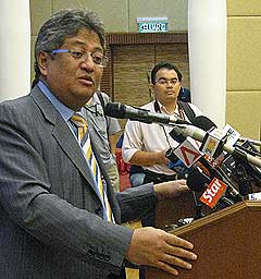 zaid ibrahim resignation from ministerial post 160908 01