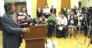 zaid ibrahim resignation from ministerial post 160908 02