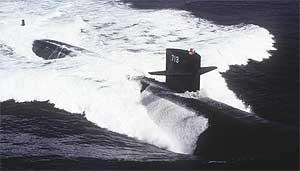 uss houston ssn 713 los angeles class nuclear submarine 260908
