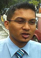 hasrul muhaimin hasbi kedah amk exco pkr candidate kuah langkawi 240908 02